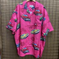 HAWAIIAN SHIRTS PINK/CAR