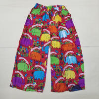 ELEPHANT EAZY PANTS RED