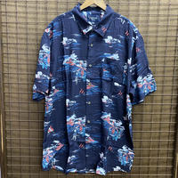 HAWAIIAN SHIRTS NAVY/GIRL
