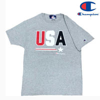 Champion TEE USA GRAY