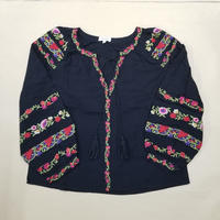 MEXICAN BLOUSE BLACK