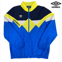 UMBRO NYLON JKT YEL/BLUE