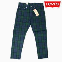 Levi's #502 BLACK WATCH PANTS
