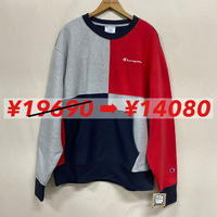 Champion R/W SWEAT RED/NAVY