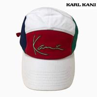 KARL KANI CAP WHT/RED