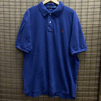 USED R/L POLO SH LP216 NAVY/RED