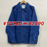 DENIM RAILROAD JACKET