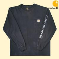 USED carhartt L/S TEE LP9
