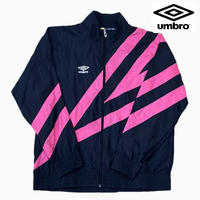 UMBRO NYLON JKT BLACK/PINK