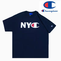 Champion TEE NYC NAVY