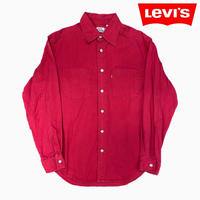 Levi's L/S SHIRTS RED