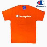 Champion NOMAL TEE ORG/WHT