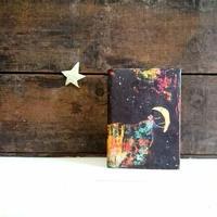 絵本なブックカバー『オーロラ王子と月』