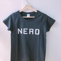 "BOOKNERDオリジナルT-SHIRT  ""NERD"" NAVY"