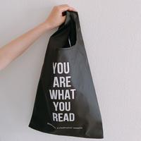 """〈受注生産/8月第1週お届け予定〉BOOKNERD Original Shopping Bag  """"YOU ARE WHAT READ"""""""