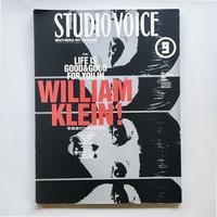 STUDIO VOICE  1999 vol.285  特集:WILLIAM KLEIN