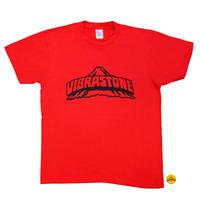 ビブラストーン ロゴ Tシャツ(復刻版) レッド