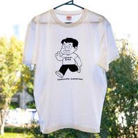 町山智浩オフィシャルTシャツ(モノクロ)