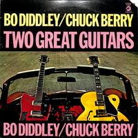 ボー・ディドリー、チャック・ベリー /  TWO GREAT GUITARS(US,CHECKER,STEREO)(LPレコード)