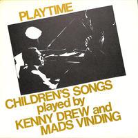 ケニー・ドリュー / Children's Songs(1982 SWEDEN ORI MLP15695)(LPレコード)
