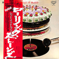 ローリングストーンズ / レットイットブリード(LPレコード)