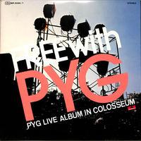 PYG,沢田研二 萩原健一 / LIVE ALBUM IN COLOSSEUM(2枚組)(LPレコード)