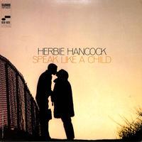 ハービー・ハンコック / SPEAK LIKE A CHILD(US BLUE NOTE 青音符,VAN GELDER刻印)(LPレコード)