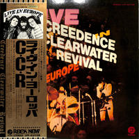 CCR / ライブ・イン・ヨーロッパ(LPレコード)