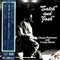 オスカー・ピーターソン & カウント・ベイシー / サッチ & ジョシュ(LPレコード)