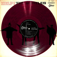 ビートルズ / ヘルプ!(赤盤,OP-7387)(LPレコード)