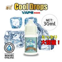 《BooMY-VAPE(清涼剤)》ーCool Drops 30ml(クールドロップス清涼剤)30ml