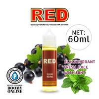 【BooMY-Originalリキッド〓PuffPuff-Liquid〓】RED-大容量60ml(レッド)カシスミント