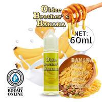 【BooMY-Originalリキッド〓PuffPuff-Liquid〓】Older Brother's Banana-大容量60ml(オールダーブラザーズバナナ)