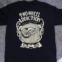TWO WHEEL ADDICTION  T-Shirts