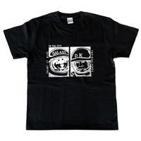 片岡大志「ギャラクシー」Tシャツ(ブラック)