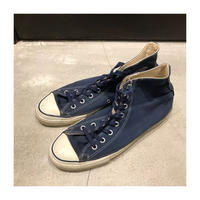 "Used  ""Blue Color""shoes 80's   Converse ALL STAR Hi US10"