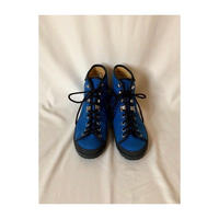 "Used ""Blue Color"" Shoes 90s Galiber ""SHISTE"" Men's"