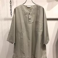 FUJITO (フジト)  Henley Neck Shirt cotton100%