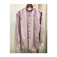 CATTA(カッタ)plainclothes shifuku別注 バンドカラーストライプロングシャツ