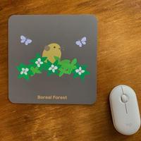 ナキウサギのイラストのマウスパッド