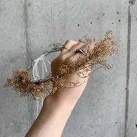 gold flower crown (ゴールドだけの花かんむり)