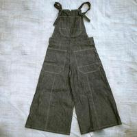 Wide Leg Overall (Indigo)