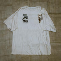 型染め / Oversize T-shirts (House & Door/Blue)
