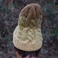 Corn Head Knit Cap (Yellow)