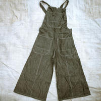 Wide Leg Overall (Black Denim)