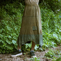 Rebirth Tee  Skirt (Green×Green)