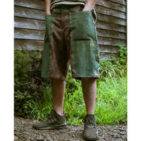 Workman's Half Pant (Green × Purple)