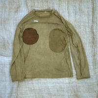 Patch Pocket T-shirt (Beige)