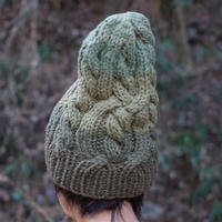 Corn Head Knit Cap (Green )