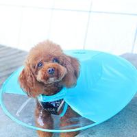 背中が傘のようなUFOレインコート サイズS ブルー